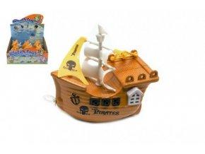 Loď/Člun do vany na natažení plast 14cm (1 ks)