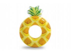 Kruh ananas nafukovací 117x86cm v krabičce 9+