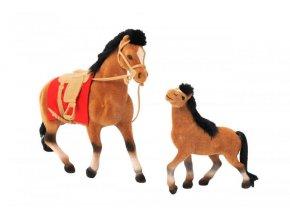 Kůň s hříbátkem a příslušenstvím