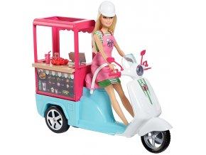Barbie vaření a pečení - Bistro skútr
