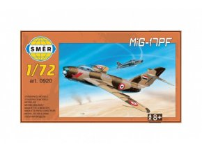 Model MiG-17PF 1:72 13,3x16,2cm v krabici 25x14x4cm