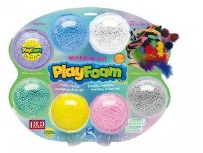 PlayFoam Modelína/Plastelína kuličková s doplňky na kartě 34x28x4cm