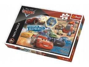 Puzzle Cars 3 koláž 260 dílků 60x40cm