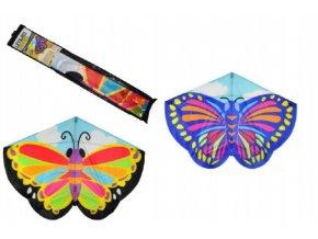 Drak létající motýl plast 138x110cm