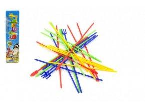 Mikádo společenská hra plast 24ks v krabičce 18x4,5x1,5cm