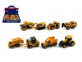 Auto stavební kov/plast 6cm asst mix druhů (1 ks)
