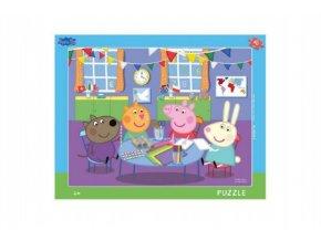 Puzzle deskové Prasátko Peppa 40dílků 37x29cm