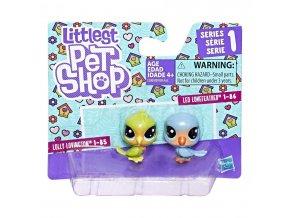 Littlest Pet Shop Dvě zvířátka (Různé druhy)
