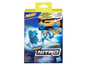 Nerf Nitro náhradní autíčko a překážka