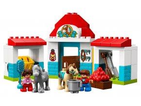 LEGO Duplo Stáje pro poníka
