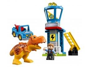 LEGO Duplo Trex a věž