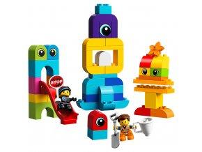 LEGO Duplo Emmet, Lucy a návštěvníci z DUPLO® planety