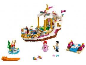 LEGO Disney Princess Arielin královský člun na oslavy