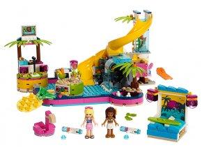 LEGO Friends Andrea a party u bazénu