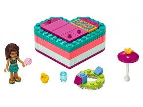 LEGO Friends Andrea a letní srdcová krabička