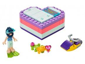 LEGO Friends Emma a letní srdcová krabička