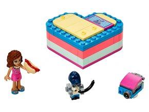 LEGO Friends Olivia a letní srdcová krabička