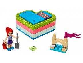 LEGO Friends Mia a letní srdcová krabička
