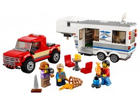 LEGO City Pick-up a karavan