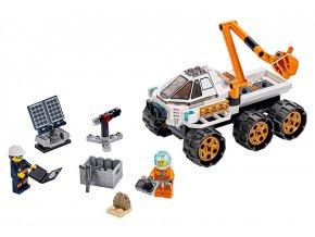LEGO City Testovací jízda kosmického vozítka