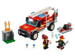 LEGO City Zásahový vůz velitelky hasičů