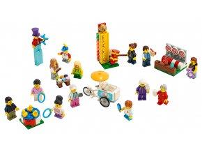 LEGO City Sada postav – Zábavná pouť