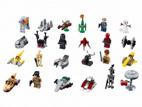 LEGO Star Wars Adventní kalendář LEGO® Star Wars™