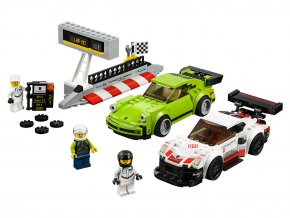 LEGO Speed Champions Porsche 911 RSR a 911 Turbo 3,0