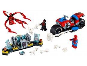 LEGO Super Heroes Spider-Man a záchrana na motorce