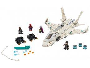 LEGO Super Heroes Tryskáč Tonyho Starka a útok dronu