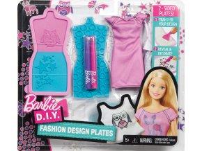 Barbie D.I.Y. MÓDNÍ NÁVRHÁŘSKÉ ŠABLONY