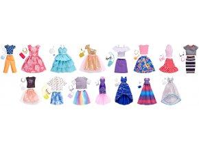 Barbie ŠATY S DOPLŇKY (Různé druhy)