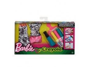 Barbie D.I.Y. CRAYOLA BATIKOVÁNÍ (Různé druhy)