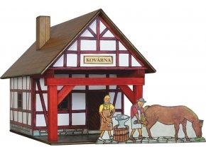 Hrázděná kovárna