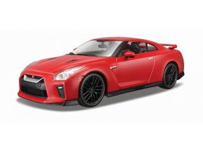 Bburago 1:24 Plus Nissan GT-R Red