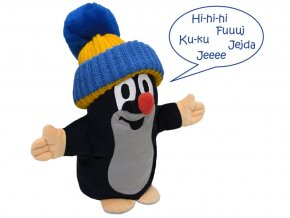 Krtek mluvící maň, modr.kulich