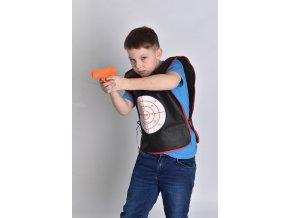 Vesty s vodní pistolkou