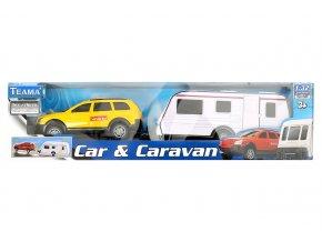 1:32 Auto s karavanem (4 druhy)