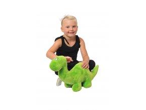 Zelený dinosaurus