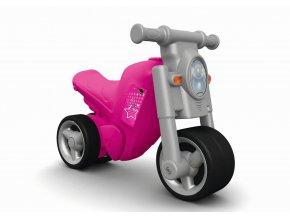 Odstrkovadlo BIG Girlie Bike růžové