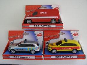 Auto SOS 14 cm, česká verze, 3 druhy