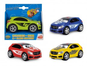 Auto Happy Mercedes A-ClDickie Action Seriess Squeezy 11 cm, 4 druhy
