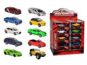 Autíčko kovové Street Cars, DP40, 10 druhů