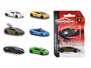 Lamborghini autíčko kovové, 6 druhů