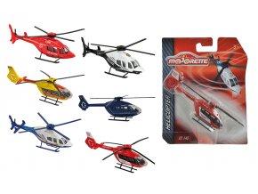 Vrtulník kovový 13 cm, 6 druhů
