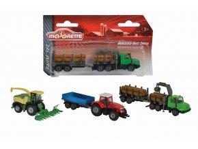 Farmářské vozidlo kovové Farm Set, 3 druhy