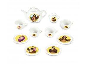 Kávový porcelánový set Máša a medvěd