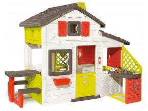 Domeček Friends House s kuchyní