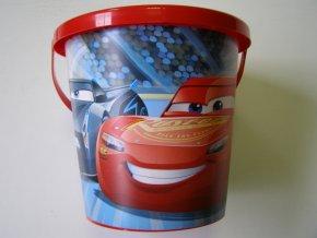 Kyblíček Cars 3 střední