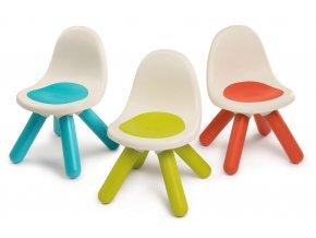 Dětská židlička, 3 druhy